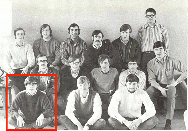 Wayne LaPierre in College